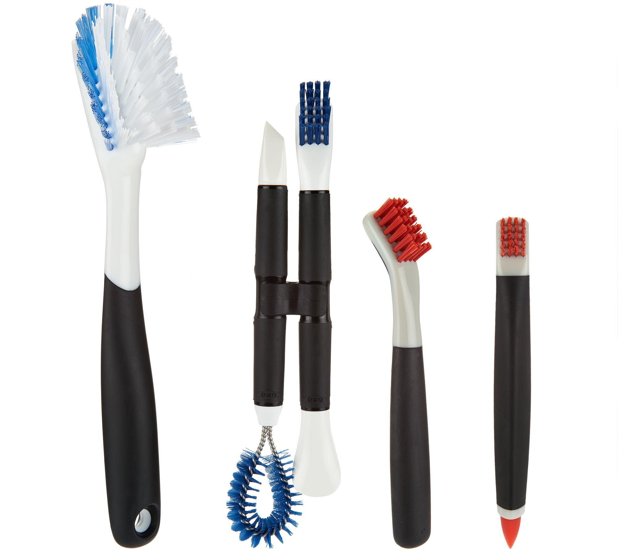 OXO GoodGrips All Purpose Deep Cleaning Brush & Tool Specialty Set ...