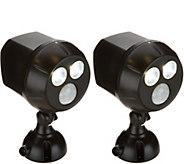 Mr Beams S/2 450 Lumen Ultra Bright Security Motion Sensor Spotlights - V34955