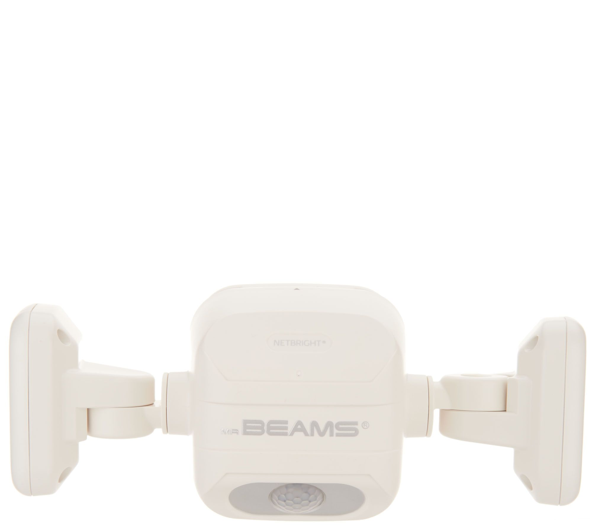 Mr Beams Netbright Dual Head Motion Sensor Security Light