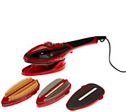 Red Steam Express 2-in-1 Iron and Steamer - V35356