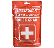Life Gear 88-Piece Quick Grab First Aid & Survival Kit - V120159