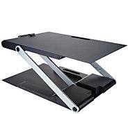 Go Anywhere Portable Adjustable Up & Down Standing Desk - V34760
