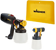 Wagner Flexio Paint Sprayer with Detail Finish Nozzle & Spray Shield - V35464