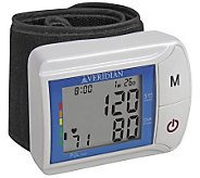 Veridian Wrist Digital Blood Pressure Monitor - V117565