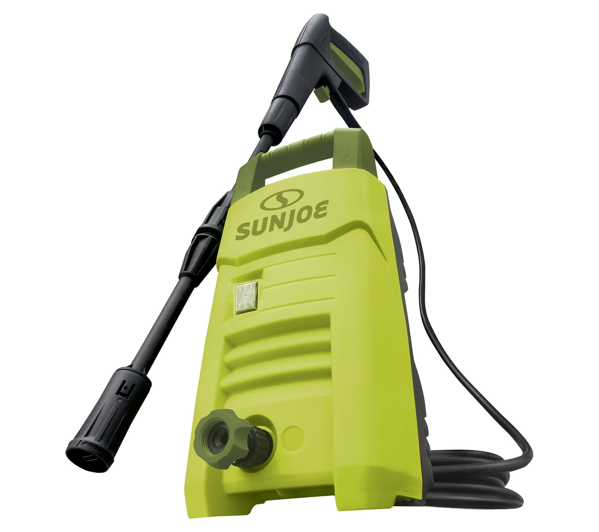 Powerful pressure washer with spray wand