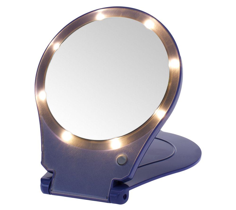 Lighted Travel Makeup Mirror 5x Saubhaya Makeup