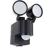 IQ America Dual Head Motion Sensor LED Spotlight with Batteries - V35469