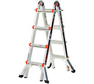 Little Giant Helium 24-in-1 17 Multi- Function Ladder with Wheels - V34271