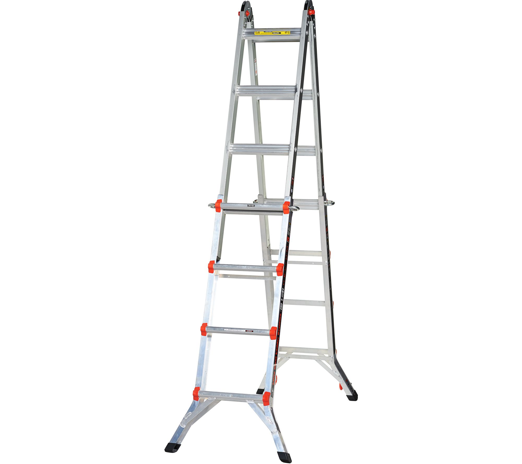 Little Giant Helium 24-in-1 17\' Multi- Function Ladder with Wheels ...