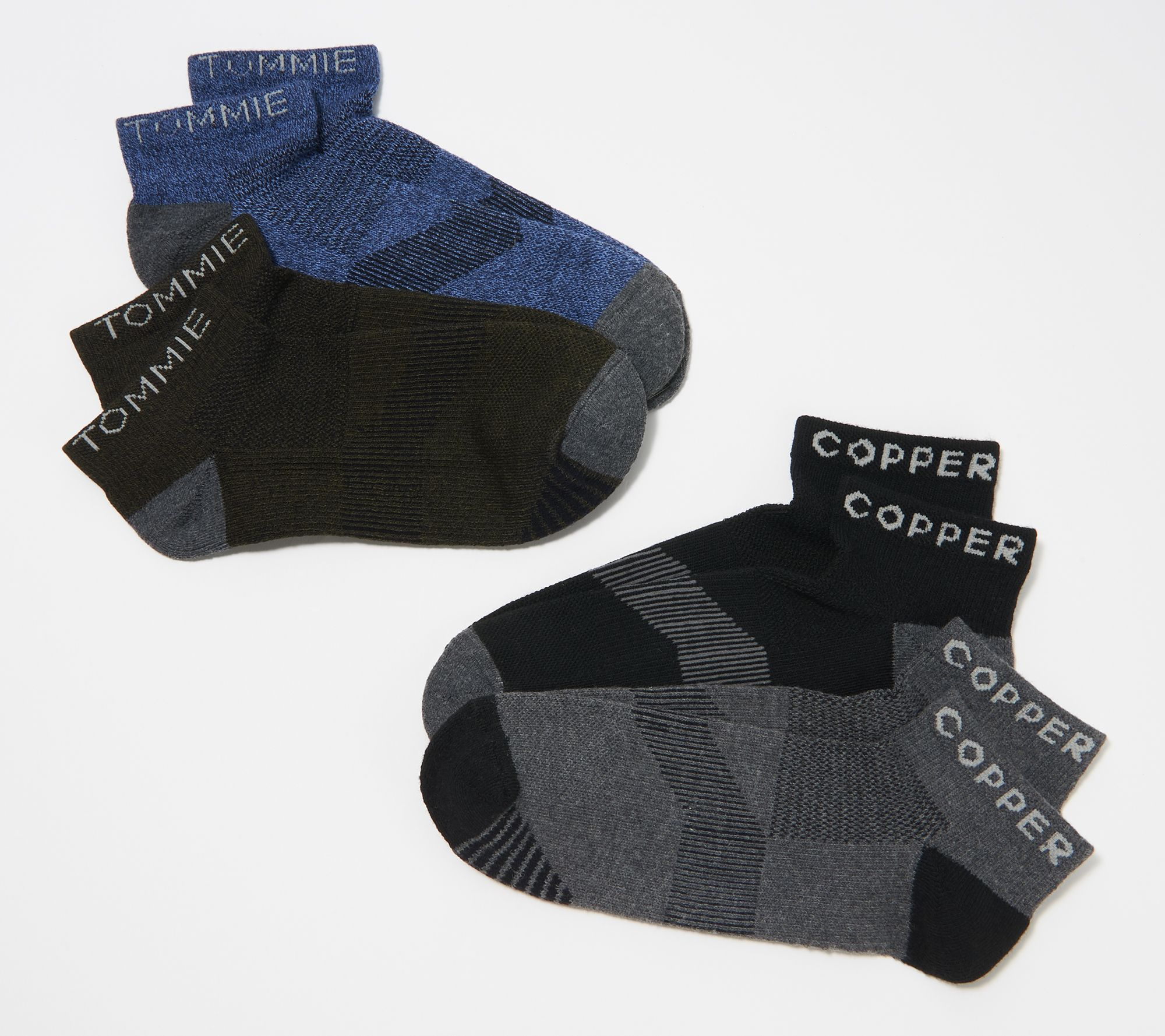 Tommie Copper Mens Athletic Ankle Socks