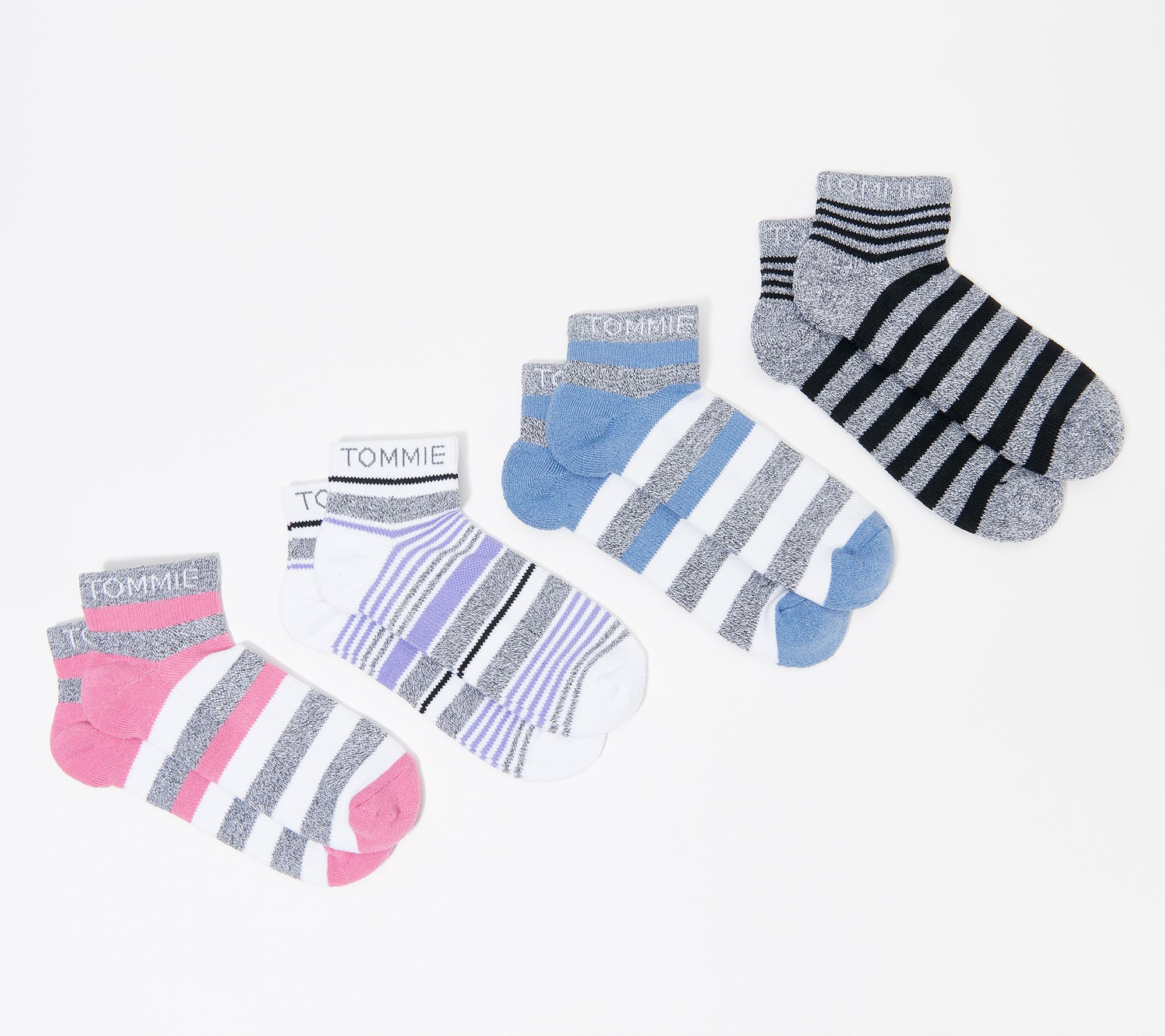 Toe White//Grey Heather Heel 8 to 11 Essentials 10-Pack Cotton Crew Sock Casual