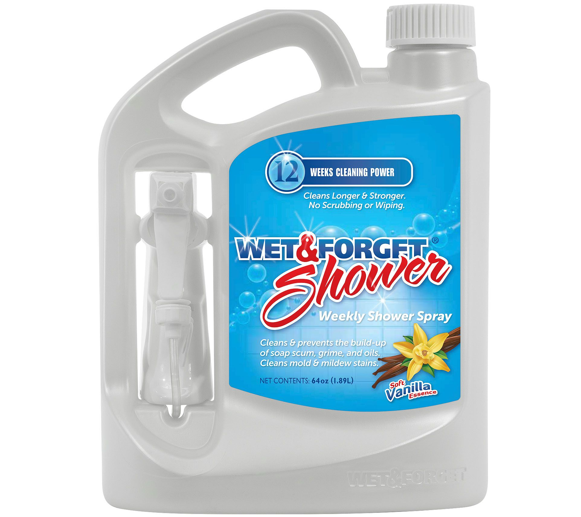 Wet & Forget 64oz Weekly Spray and Rinse Shower Cleaner - Page 1 ...