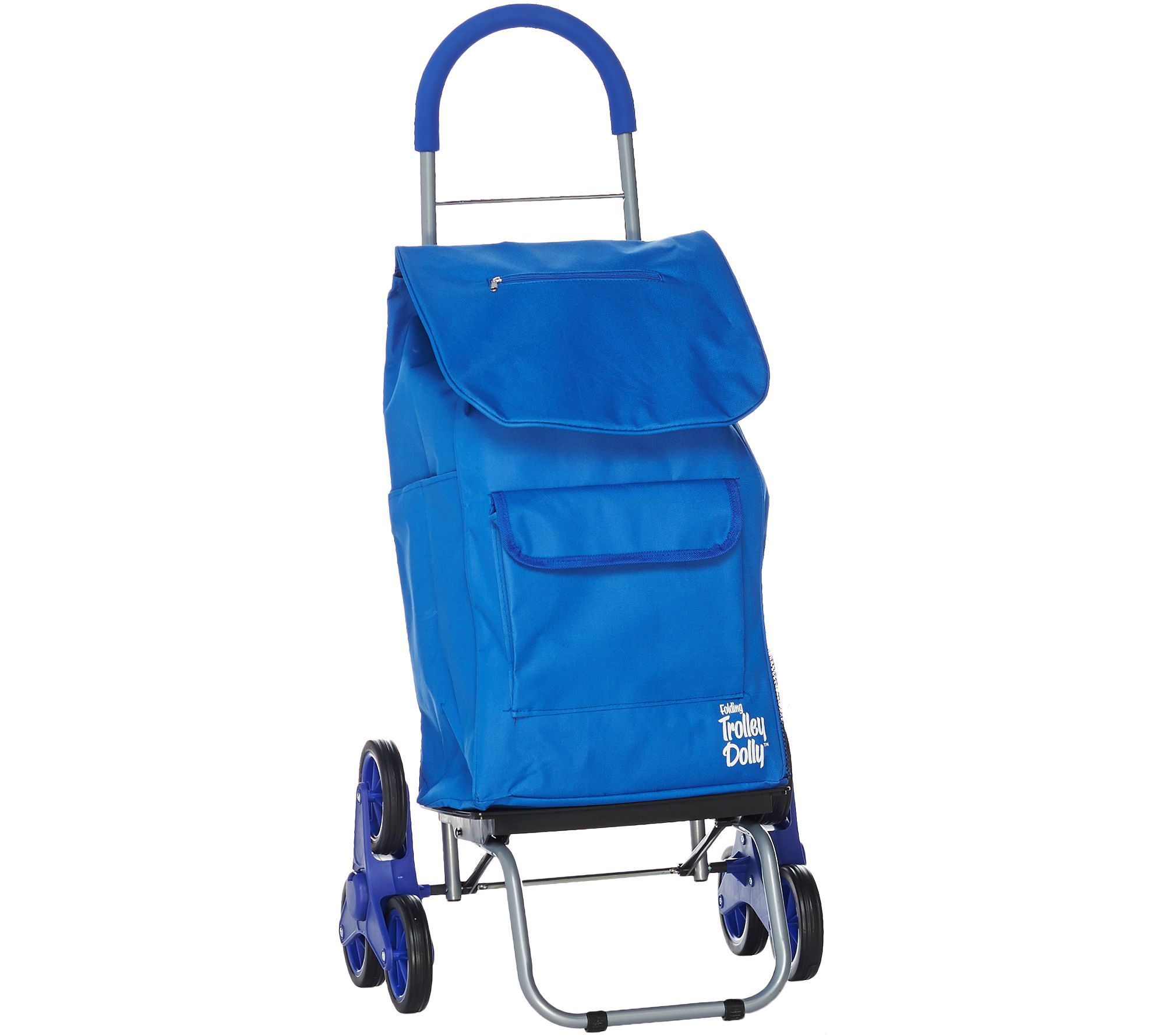 Trolley Dolly 2 In 1 Folding Cart With Stair Climbing Wheels Page Qvc