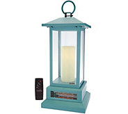Duraflame 28-3/4 Electric Lantern with Infrared Heat - V34981