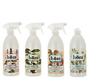 hom 4-Piece Everyday Spray and Creme Cleanser Kit - V35383