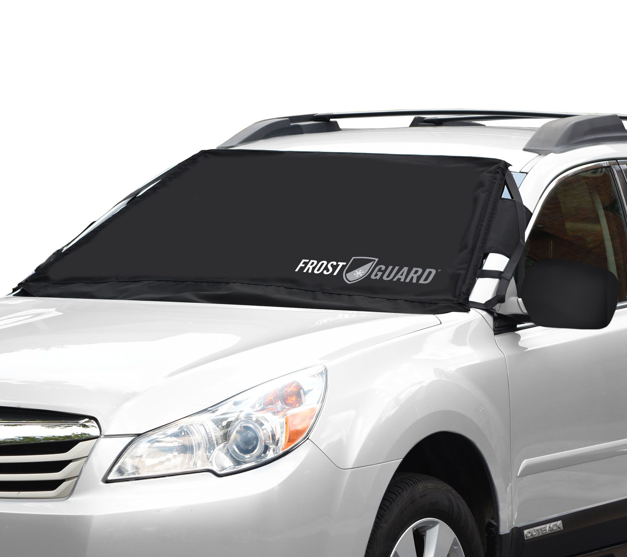 Frostguard Standard Size Windshield And Wiper Cover W Mirror Covers Page 1 Qvc