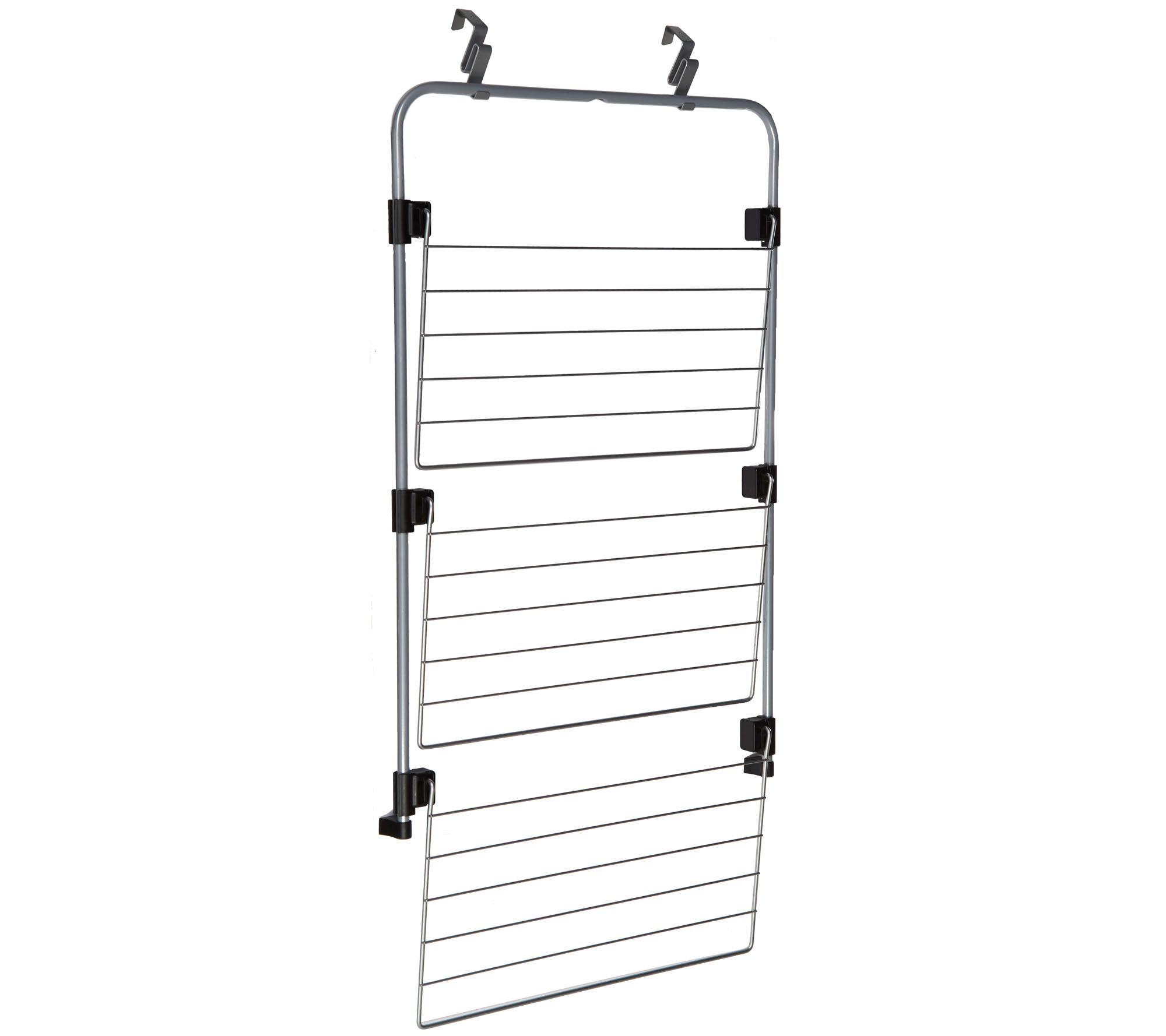 Metaltex Over The Door Clothing And Towel Drying Rack Page 1 Qvccom