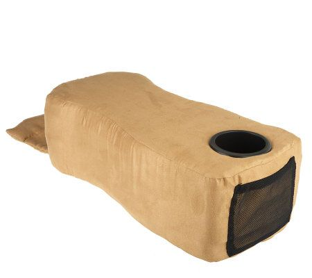 Delicieux Couch Buddy Portable Armrest With Memory Foam And Cup Holder   Page 1 U2014  QVC.com