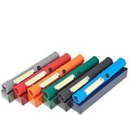 SECUREBRITE Set of 6 Multi-Function Pen Lights with Magnetic Base - V35992