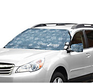 FrostGuard Windshield Cover with 2 Security Panels & Mirror Covers - V35693
