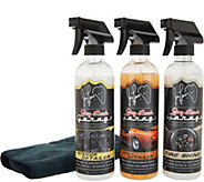 Jay Lenos Garage 3-Piece Car Detailing Kit w/ Accessories - V36093