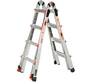 Little Giant EZ 17 24-in-1 Multi-Function Ladder with Wheels - V35894