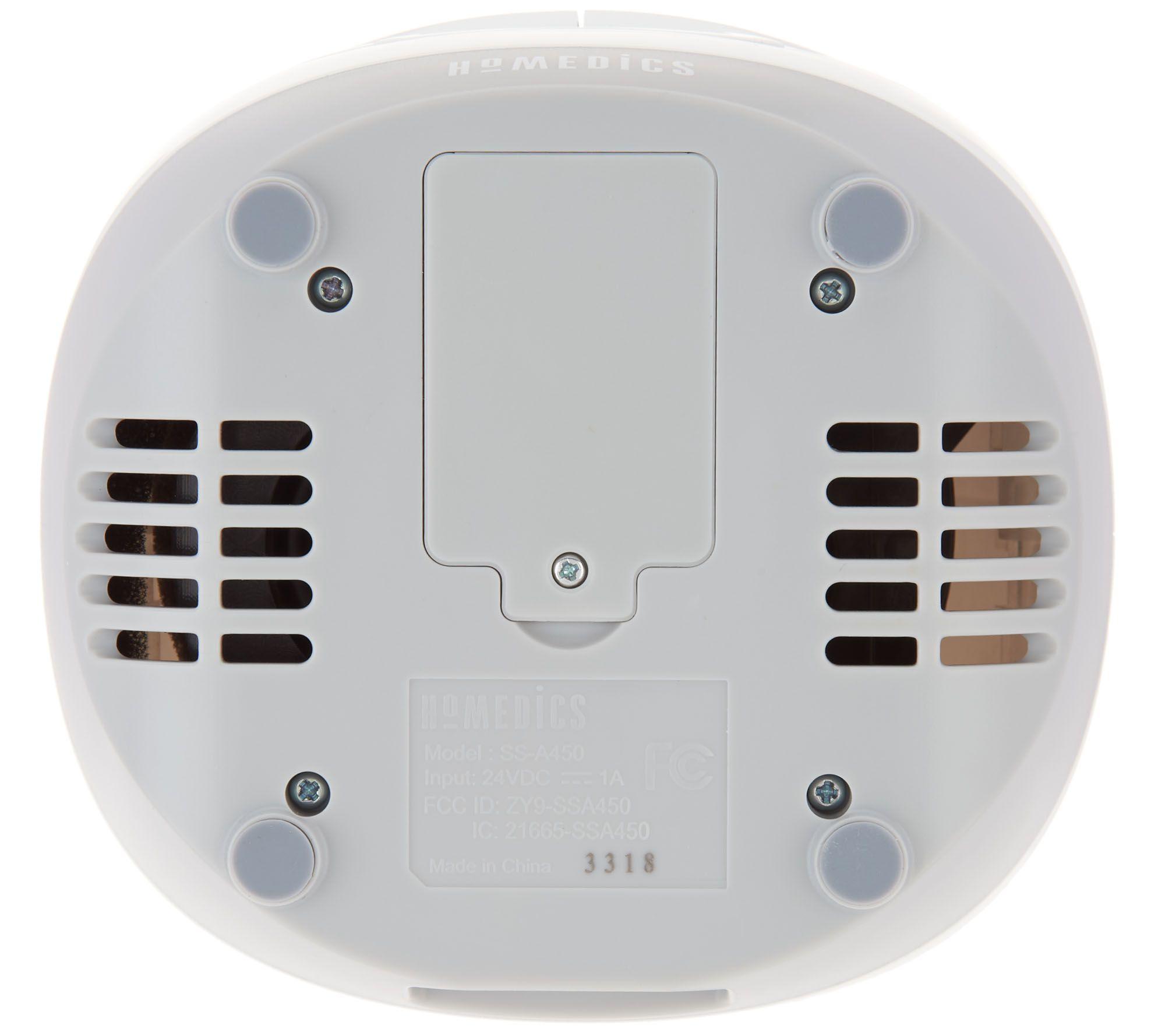 HoMedics SoundSpa Slumber Scents Aroma Alarm Clock — QVC com